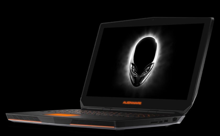 Alienware 17, a power gaming laptop that capitalizes on eye tracking