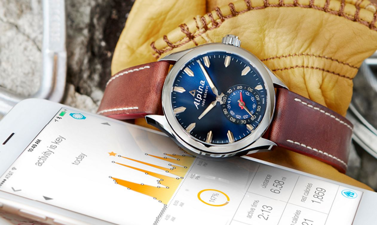 Alpina makes the smartwatch classy, with its Horological collection