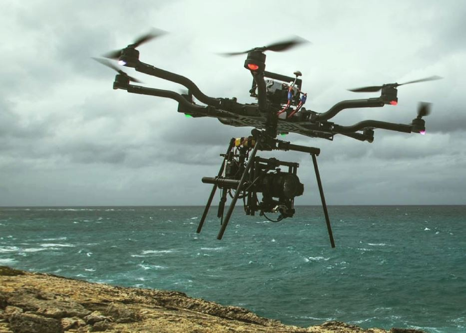 Surfing on drone could be the next in action sport