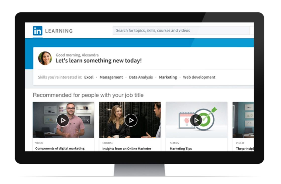 LinkedIn professionals can develop skills on new e-learning platform