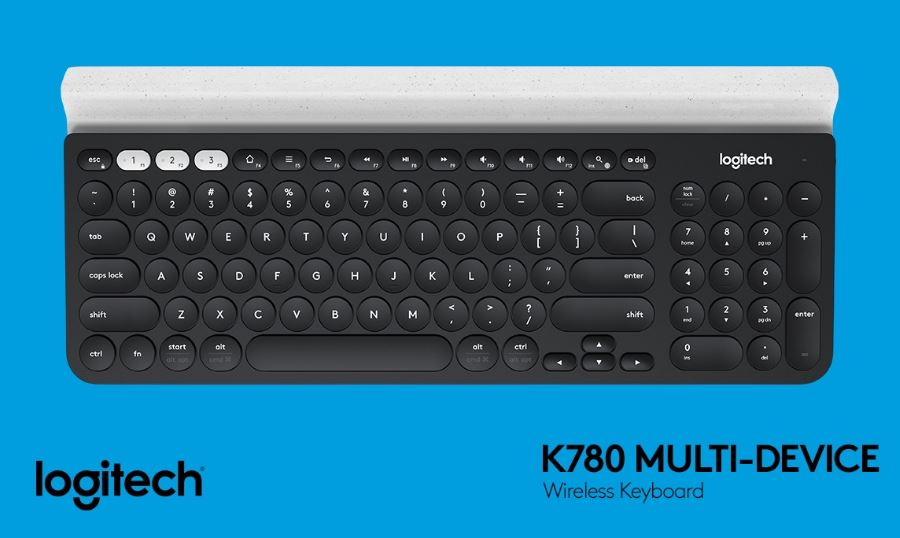 Logitech's new K780 makes typing virtually hands free!