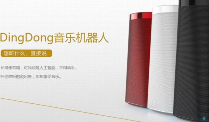 DingDong is a smart speaker developed for Chinese market