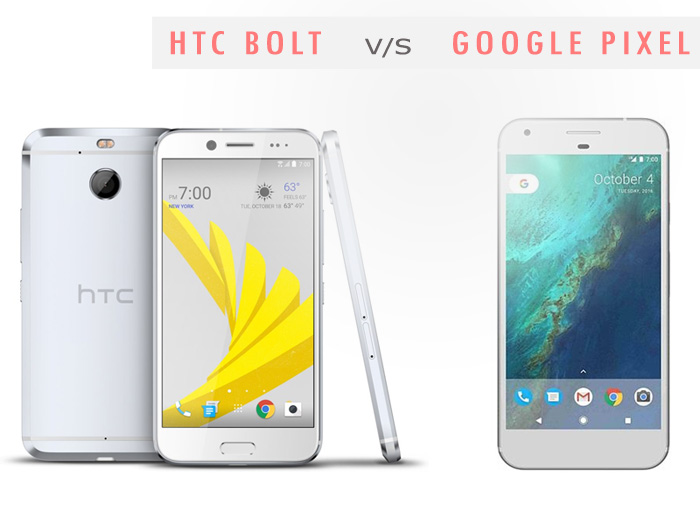HTC Bolt vs Google Pixel: Which is the better smartphone
