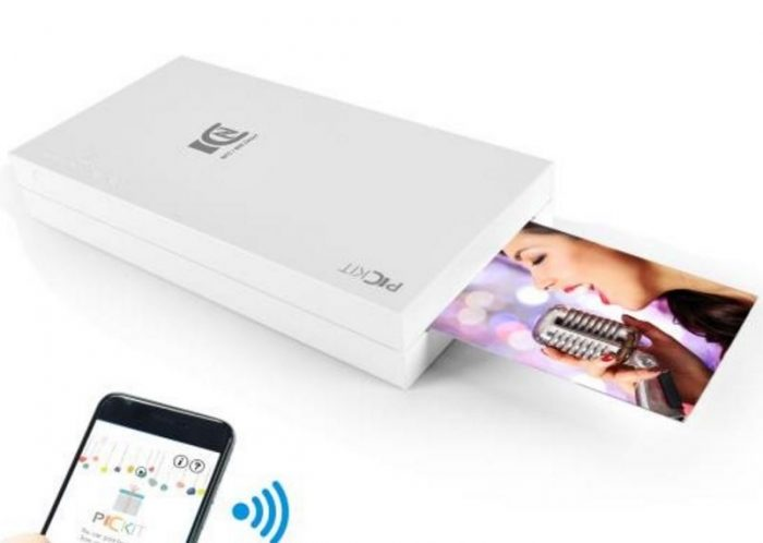 Pyle's instant Portable Photo Printer is just the size of an iPhone