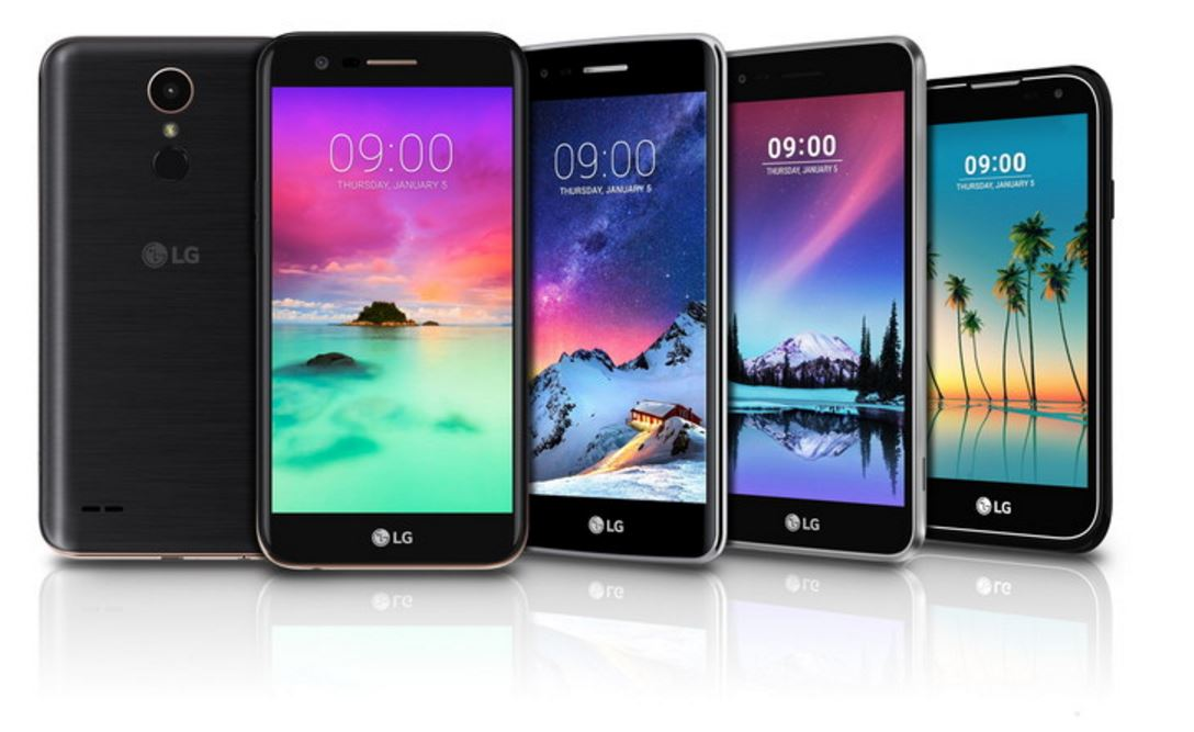 LG will be unveiling four K-series phones and Stylo 3 at CES 2017