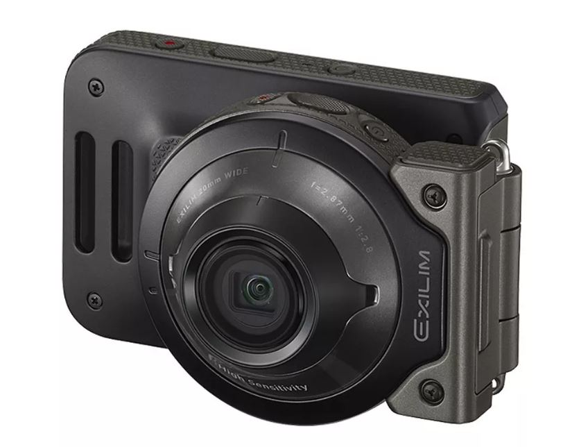 This new Casio action camera is for low-light photos