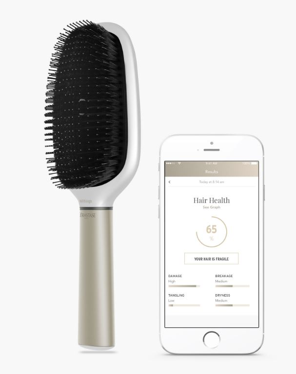 Hair Coach is a 'smart' brush to track hair health and care routine