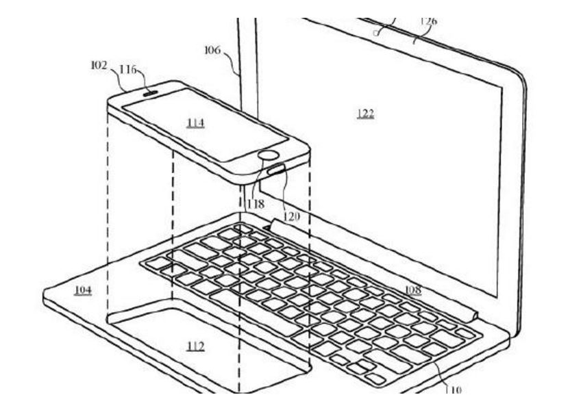 Apple's new patent will make it possible for an iPhone or iPad to form a MacBook