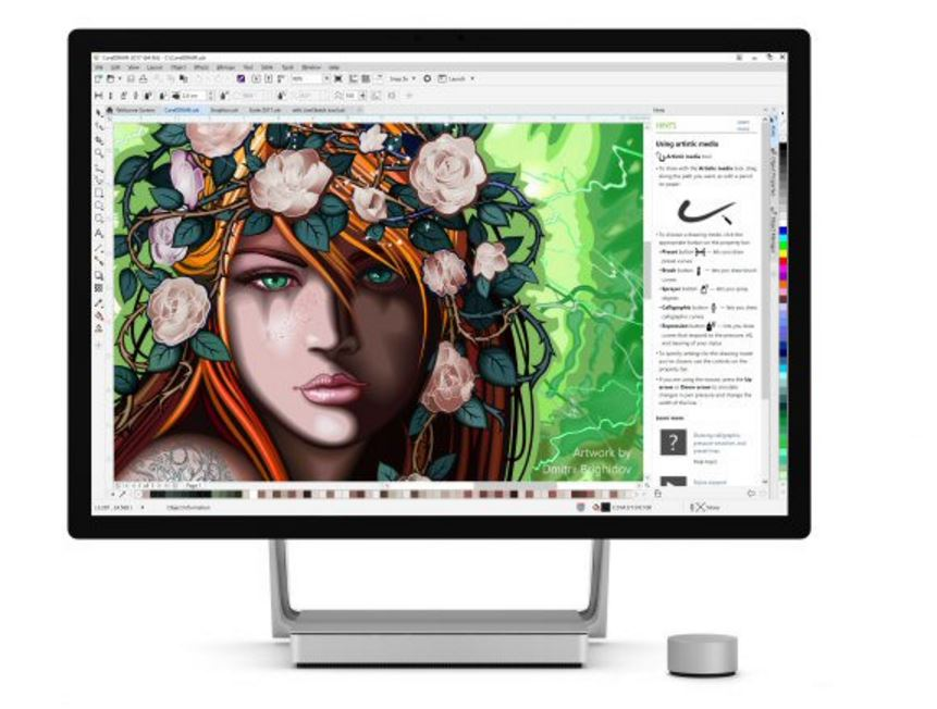 CorelDraw Graphic Suite 2017: You don't need a stylus to sketch vectors anymore
