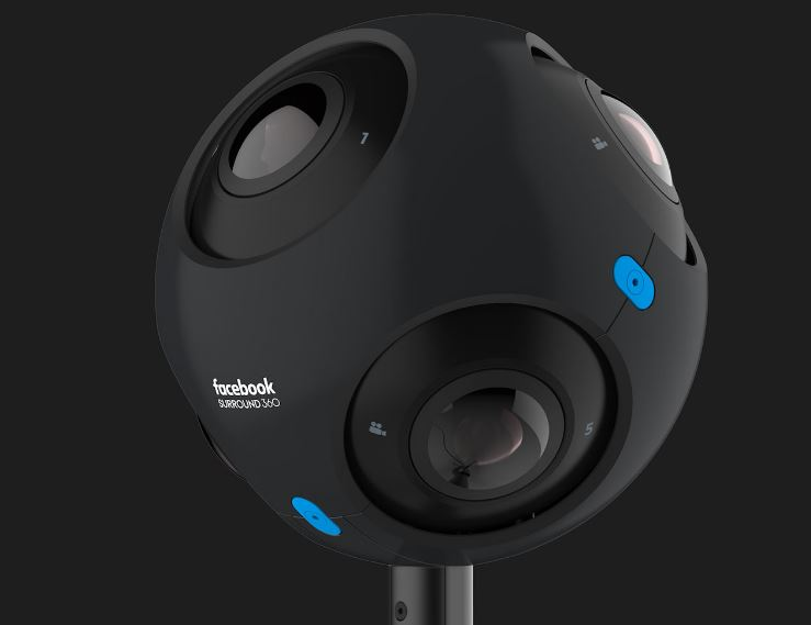 Facebook's new Surround 360 cameras let you move around inside a live video