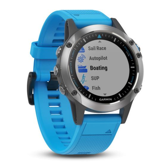 Garmin's quatix 5 smartwatch is well suited for marine environment