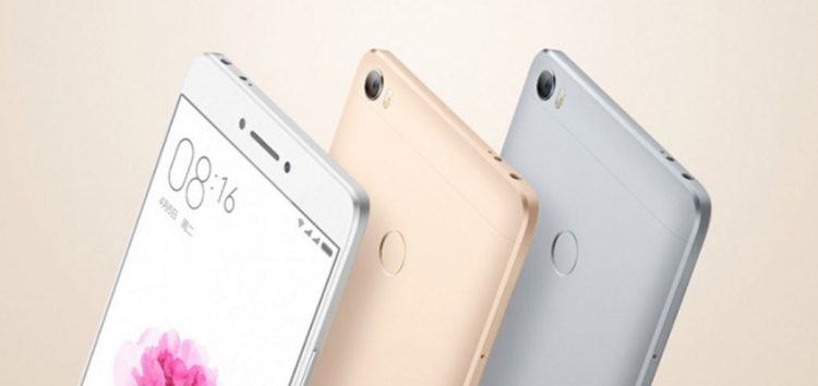 Xiaomi Mi Max 2 with 6.4-inch display will launch on May 25