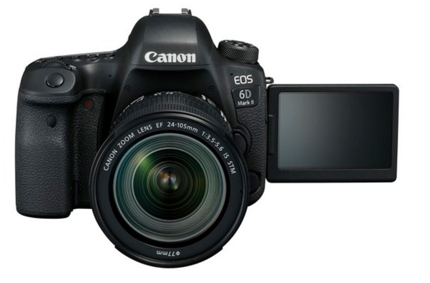 Canon launches EOS 6D Mark II