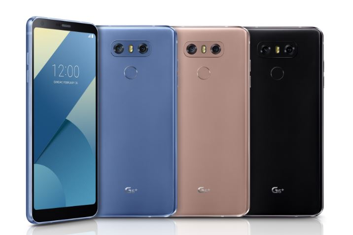 LG Launches G6+ with 128GB storage and G6 32GB Variant in Korea