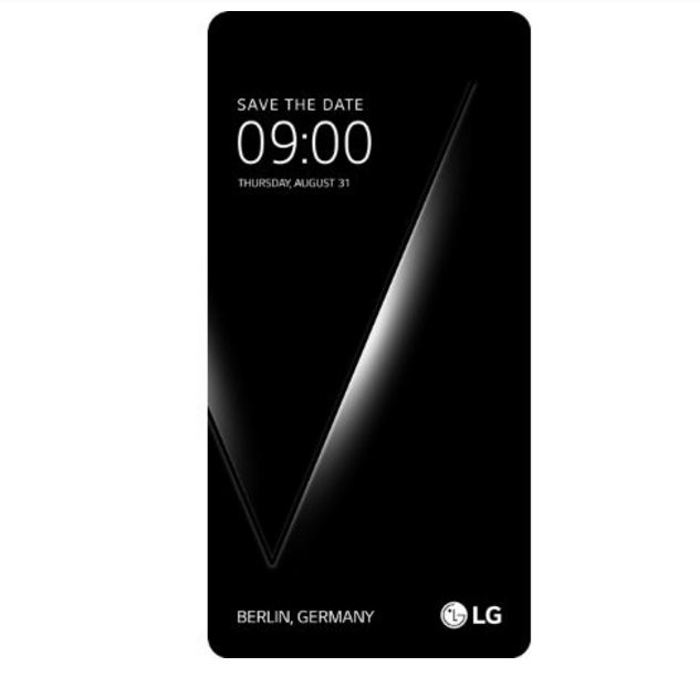 LG to unveil V30 on August 31