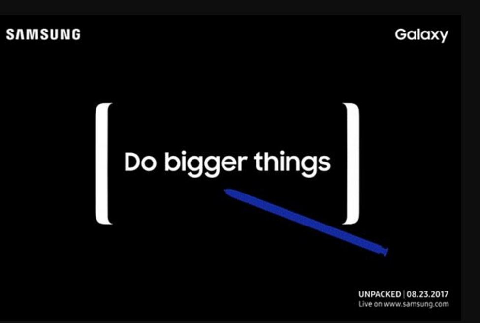 Samsung Galaxy Note 8 to be unveiled on 23 August