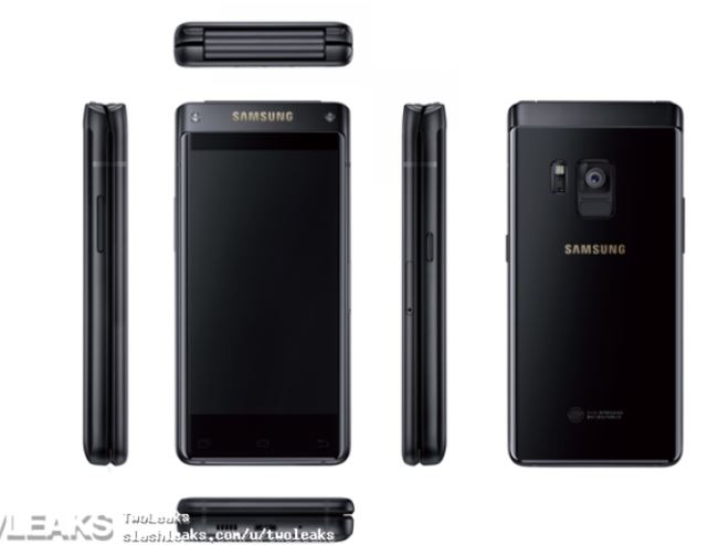 Samsung Android flip phone render gets leaked, could arrive on August 3