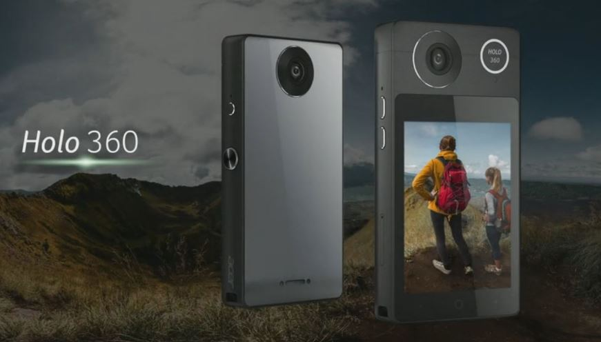 Acer's new Nougat powered Holo360 camera with LTE connectivity