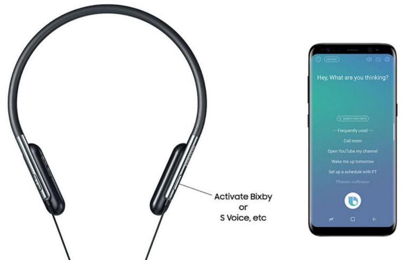 Samsung U Flex: Bendable Bluetooth headsets that support Bixby