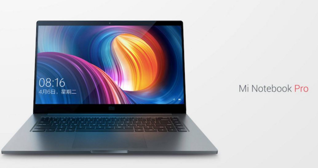 Xiaomi Mi Notebook Pro Announced
