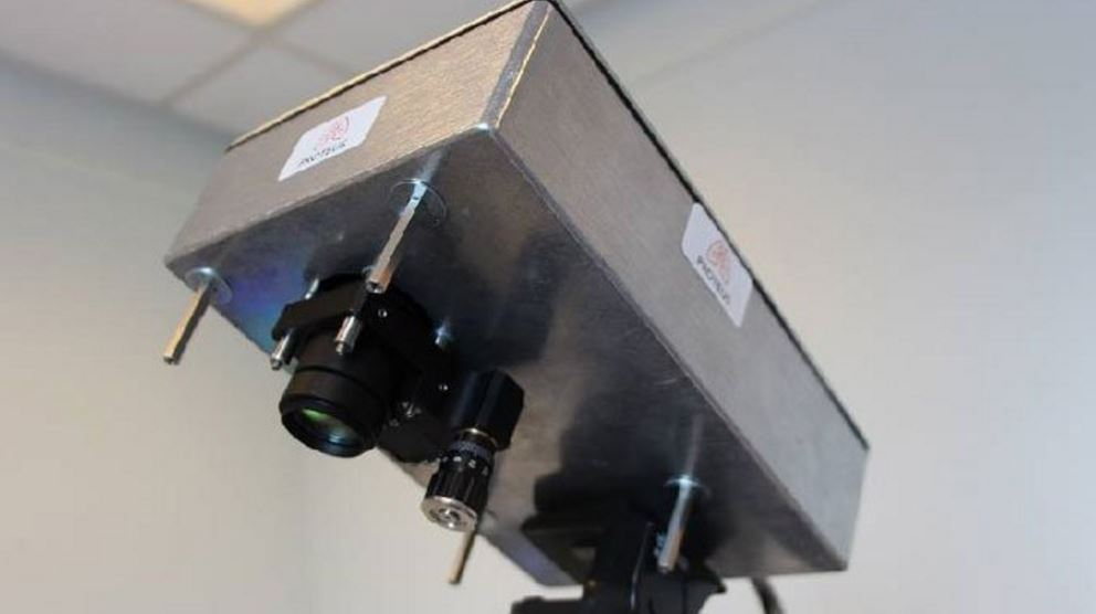 This camera can look through the human body and could replace the X Ray machine