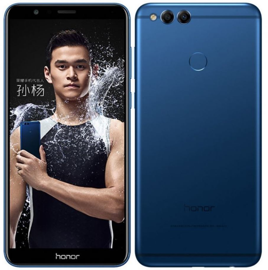 Honor officially unveils 7X with 18:9 FHD+ display and improved rear dual-camera setup