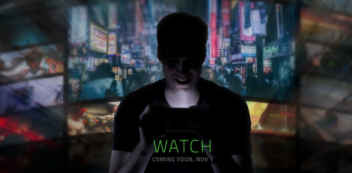 Razer teases big announcement coming Nov 1, most likely a new smartphone
